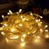 Гирлянда однотон (желтая) 100 LED