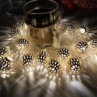 Гирлянда золото пандоры, 20 LED