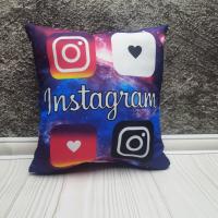 Декоративна подушка INSTAGRAM