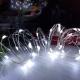 Гирлянда роса, (30 LED) 2 режима свечения Холодный Белый