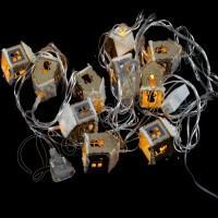 """Гирлянда 10 LED """"Домик"""""""