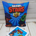 Детская подушка Brawl Stars