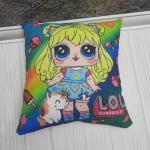 "Подушка детская ""Куклы LOL"""