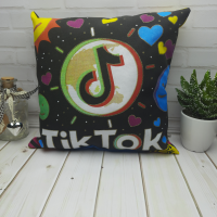 TikTok декоративная подушка