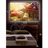 Картина с подсветкой «Фруктовый натюрморт»