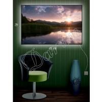 Картина с подсветкой «Тихий вечер»