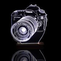 3D светильник «Фотоаппарат»