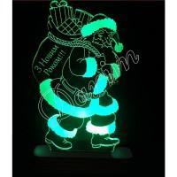 3D светильник «З Новим Роком»