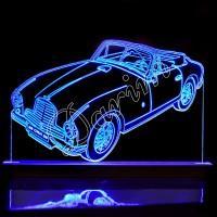 3D светильник «Кабриолет»