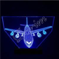 3D светильник «Самолет»