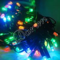Гирлянда уличная 100 LED 10 м 3.3 мм