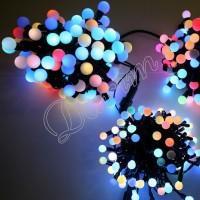 Гирлянда уличная Шарики 40  LED 7 м 1.8 мм