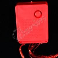 Гирлянда однотон (красная) 100 LED