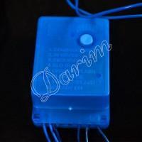 Гирлянда однотон (синяя) 100 LED
