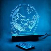 3D светильник «Мишка»