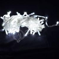 Гирлянда однотон (белый холодный) 100 LED