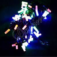 Гирлянда восьмигранник 100 LED мульти