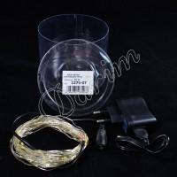 Гирлянда Роса (белый теплый) 100 LED USB