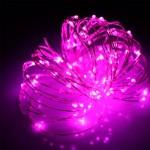 Гирлянда Роса (Фиолетовый) 100 LED USB