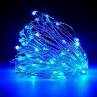 Гирлянда Роса (Синий) 100 LED USB