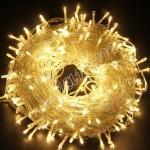Гирлянда однотон (теплый белый) 200 LED