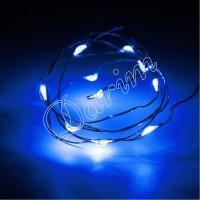 Гирлянда Роса (Синяя) 10 LED  на батарейках