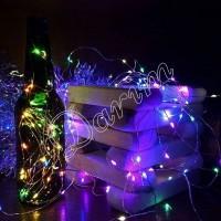 Гирлянда Роса (Мульти) 50 LED  на батарейках
