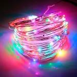 Гирлянда Роса (Мульти) 100 LED  на батарейках