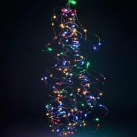 Гирлянда Роса Конский хвост (Мульти) 300 LED