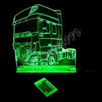3D светильник «Тягач DAF»