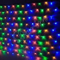 Гирлянда Сетка мульти 120 LED 1.5х1.5 метра