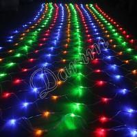 Гирлянда Сетка мульти 144 LED 1.8х1.8 метра