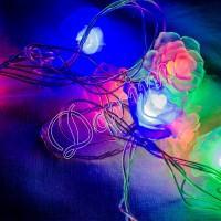Гирлянда «Роза» mini 28 LED