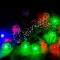 Гирлянда «Снежинка пушистая» 20 LED