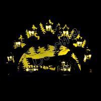 Светильник «Зимний лес»