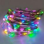 Гирлянда Роса (Мульти) 100 LED USB