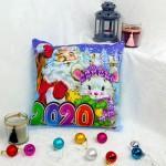 "Подушка новогодняя светящаяся ""Дед Мороз"""