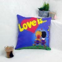 "Подушка светящаяся ""Love is"""