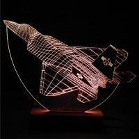 """3D светильник """"Истребитель"""""""